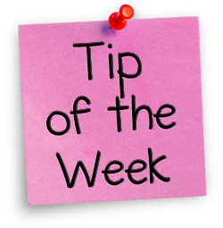 Tip of theWeek